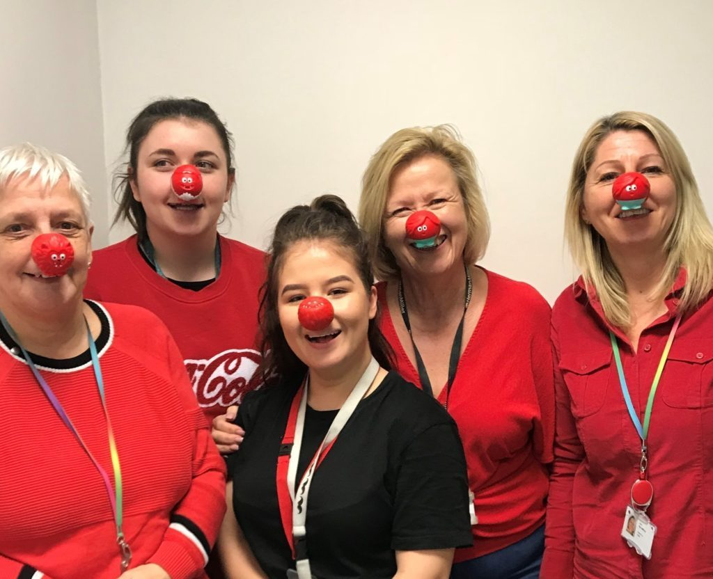 Red Nose Day fund raising